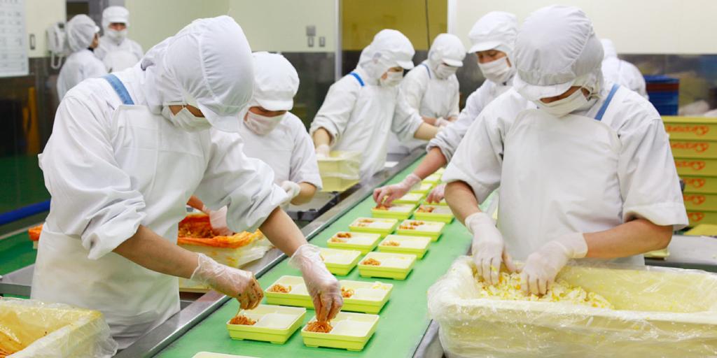 Ngành chế biến thực phẩm tại Nhật